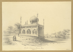 Tombs & Mosque of Kowars Kahn, Beejapore [Bijapur]